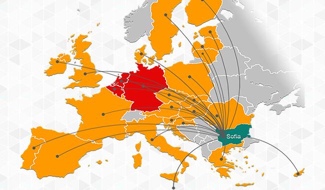 Aуторсинг в цяла Европа