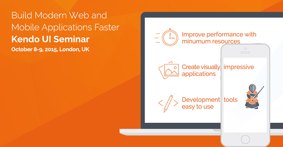 Kendo UI Development Seminar Build Modern Web and Mobile Applications Faster