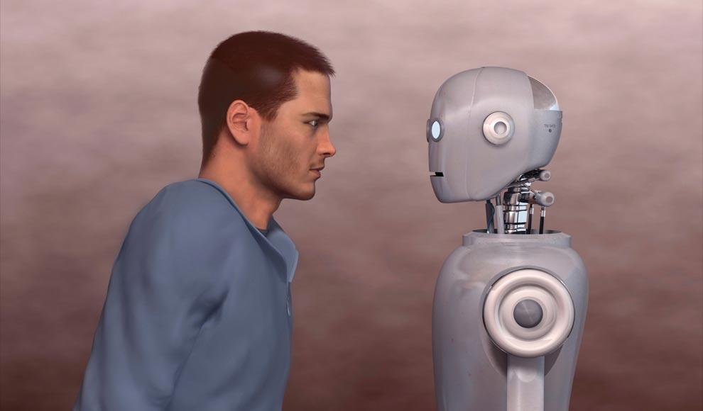 3D human vs robot