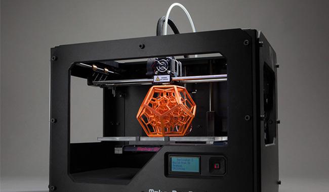 3d printer in industry