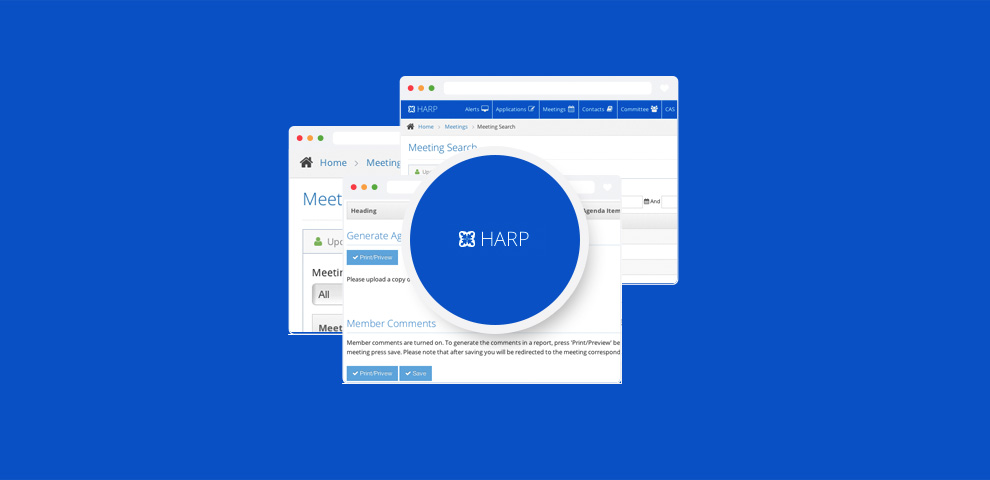 HARP - web solution for ethical reviews of clinical research projects