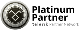 Telerik Platinum Partner logo