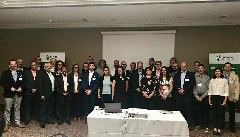 Bulgarian IT Roadshow delegates meet Thames Valley Chamber of Commerce