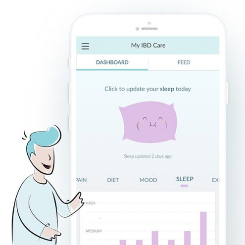 Self-management application solution for patients