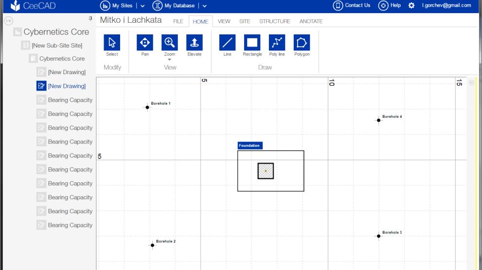 CEECAD CAD web-based software solution online construction engineering platform - 1